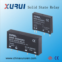 pcb mounted solid state relay / 220vac solid state relay ssr / 5V 12V 24VDC mini pcb ssr solid state relay