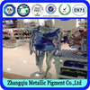 metallic epoxy pigments for spray coating