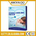 /azul blanco/coloreada para reducir la fiebre fresco patch