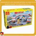 معدات البلاستيك المستشفى الطبيب طبيب الاطفال لعبة تعيين