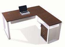 manufacturer china modern hot selling melamine executive desk