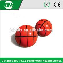 super rubber 32mm basket ball bouncing ball