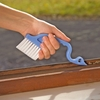Window blind cleaning brush