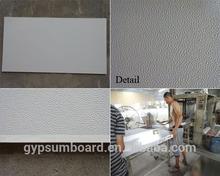 PVC gypsum decorative ceiling tile building material