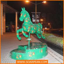 theme park high quanlity resin horse
