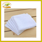 2014 Cheap wholesale customized cotton square towels 28x28