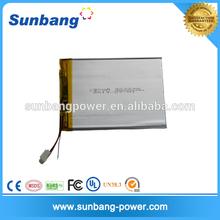 SUNB327398 ture capacity li-ion battery 3.7v battery 3000mah for tablet