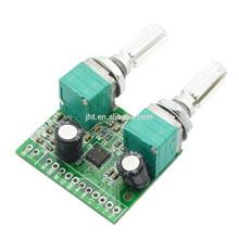 Jtron USB 5W + 3W 2.1-Channel Digital Audio Stereo Power Amplifier Board Module - Green (5V)