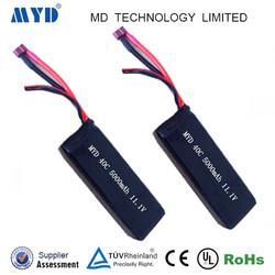 40c discharge rate 11.1v 5000mah 11.1v rc lipo battery