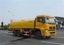 18.3m3 water tanker truck transport dongfeng