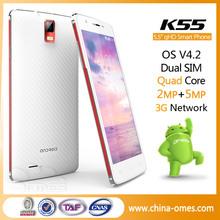 omes mobile 8g rom 3g dual sim quad core unlocked android telefon