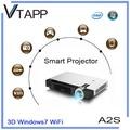 Vtapp a2s 2014 alta- producto de tecnología windows proyectorinalámbrico caja del ordenador portátil