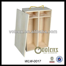 Custom Cheap Promotional Custom Wooden Wine Boxes Wholesale (SGS&BV)