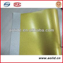 Golden PET Film Silk/Sandy/Matt Adhesive A3 A4 Sheet