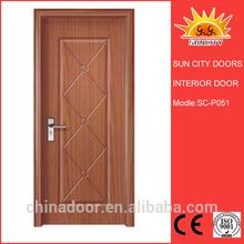 Antique style prefinished interior door designSC-P051