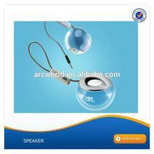 AWS1080 Creative Ball Speaker, plastic cabinet speaker box