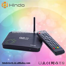 Newest DVB-T2 android tv box CS818II Dual Core AMLogic8726-MX 1.5GHz Android 4.2.2 1G 8G WiFi Bluetooth HD DVBT