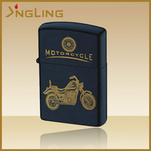Metal Flint Motor Cycle Cigaretle oil lighter