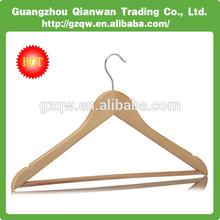 Wholesale High Quality Wooden Hanger Metal Hook Clothes Coat Hanger