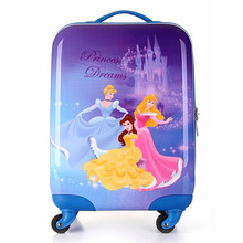 High quality cute kids luggage, kids school bags for girls