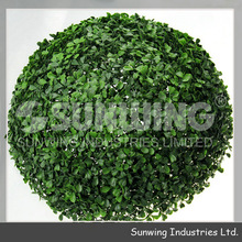 Sunwing best choice artificial boxwood balls privacy hedges
