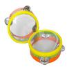 musical education wolesale child mini plastic tambourine drum for sale