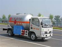 mini 5-8 stere Lpg tanker truck flat