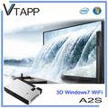 Vtapp a2s 2014 alta- producto de tecnología windows proyector inalámbrico portátil bolsa de cuero