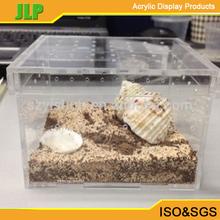 Organic acrylic pet cage ,eco friendly clear acylic box