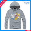 Cheap Gray Wholesale Pullover XXXL Gym Hoodie