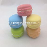 Artificial fake food model/Cutest Macaroon fridge magnet/keychain