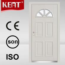 Blindado de acero de la puerta de madera del diseño con el certificado del Ce para de hierro puerta de la puerta