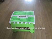 China Manufacturer children cheap plastic stool /foot stool