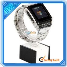W818 Black Silver Waterproof Wrist Cdma Watch Mobile Phone