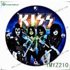 2014 Hot Sale Band of kiss wood clock