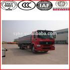 SINOTRUK oil tanker trucks for sale/diesel tanker truck