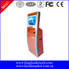Kiosk payment machine with RFID card reader,printer,barcode reader