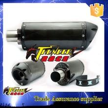 Carbon fiber muffler exhaust pipe motorcycle