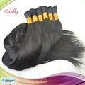 Best seller brasileña del pelo humano, Pelo indio, Peruana del pelo a granel en la acción