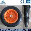 plastic rim and colorful rim pneumatic wheels 3.25-8