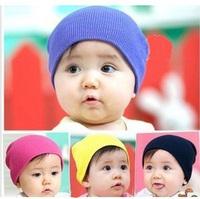 2014 Winter Baby Boy Girl soft cotton knit baby hats Children cap and hat 5379