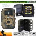 12mp basso di sicurezza esterna percorso della fauna selvatica scouting fotocamera con registrazione del suono