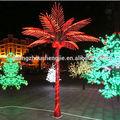 Lf082213 jardim decorativo artificial árvores com luzes led/interior& outdoor iluminado coqueiros