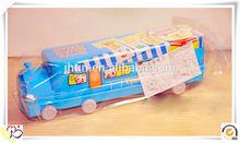 Christmas decorative train shape pencil metal box/multiplication table pencil box