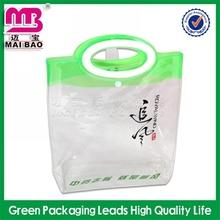 Reach ISO9001 standard photo printing pvc tote bag