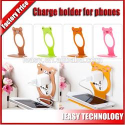 cute plastic mobile phone holder,funny cell phone holder for desk