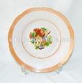 Ristorante piatti piatti di ceramica, caldaie a buon mercato piatti piani in ceramica/ceramica piatto/piatti di porcellana