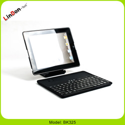 For iPad 3 Keyboard Case, 360 Degree Rotate Bluetooth Keyboard For iPad 2/3/4