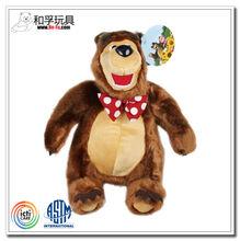 Custom popular plush toy masha and the bear