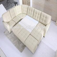 living room recliner sofa for modern white furniture KQ601-1